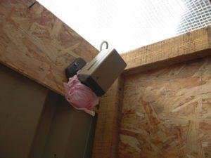 Pour votre sécurité, nos toilettes sont sous haute sécurité cette année