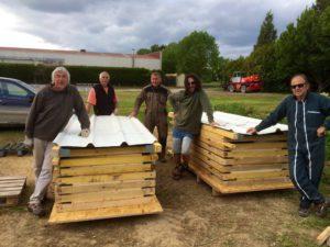 Et voilà les 21èmes Moissons Rock sont terminées. Et nos 12 toilettes sèches sont rangées: total respect à Jean-Loup!