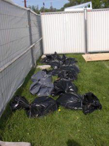 Stockage de nos sacs pipi-caca :