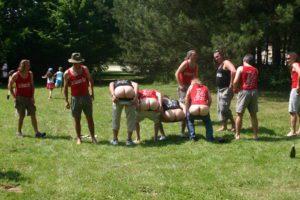 L'équipe mâle des Moissons Rock. Saurez vous retrouver Chiotteman ?