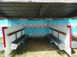 L'installation pour urijaunes de Balayetteman