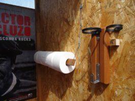 Support multifonctions pour toilettes de ces dames