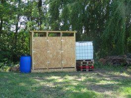 3 nouvelles toilettes sèches pour nos campeurs...