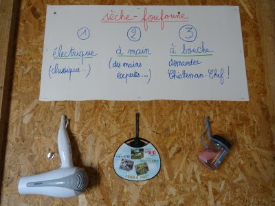 Les ustensiles de Chiotteman Chef